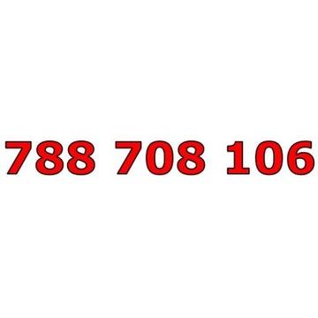788 708 106 T-MOBILE ŁATWY ZŁOTY NUMER STARTER
