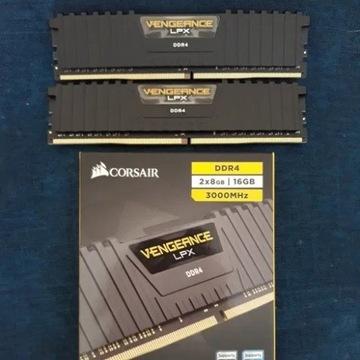 Pamięć RAM Corsair 16GB (2x8GB) 3000MHz CL15 Venge