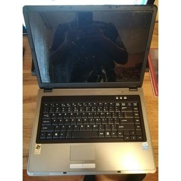 Laptop MAXDATA ECO4510IW uszkodzony i niekompletny