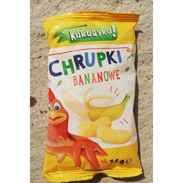 Chrupki Kukuryku bananowe