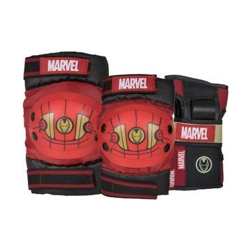 Komplet ochraniaczy dziecięcych Marvel Iron Man(L)