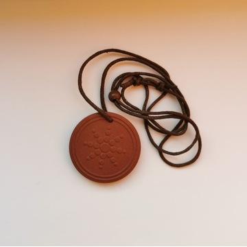 Medalion quantum brązowy test licznik geigera