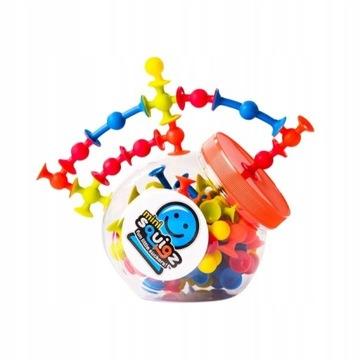 Fat Brain Toys Mini Squigz Przyssawki 75El