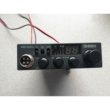CB RADIO UNIDEN PRO 520XL 520 XL 520-XL