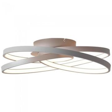 Lampa Sufitowa LED Brilliant Labyrinth Szara 42W