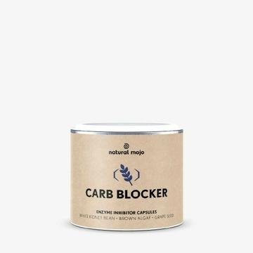 Kapsułki Carb Blocker Natural Mojo bloker węglowod