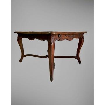 Oryginalny stół Ludwik XV Rocaille Francja 1860 r.