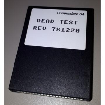Cartridge C-64 DEAD TEST REV 781220 Commodore C64