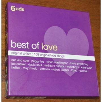 BEST OF LOVE -6CD - Original Artists: 108 original