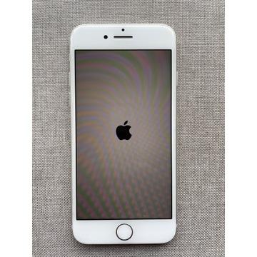 iPhone 8 64GB biały - idealny, po wymianie baterii
