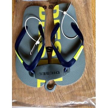Japonki DIESEL 40 Made in Italy 26,5cm