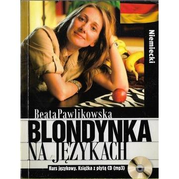 Blondynka na językach Niemiecki + CD / stan bdb