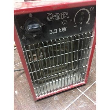 Nagrzewnica elektryczna termowentylat Dania 3,3 kW
