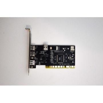 Smart Electronic Karta PCI 3x FireWire IEEE 1394