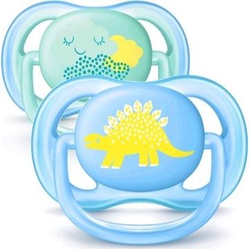 Avent Ultra Air Smoczek Ortodontyczny 0-6m+