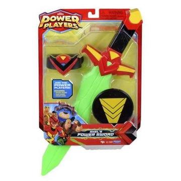 Power Players Miecz Axela + odznaka bohatera 4+