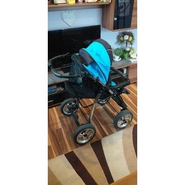 Wózek dziecięcy 3w1 AGAT2 po 1 dziecku w bd stanie