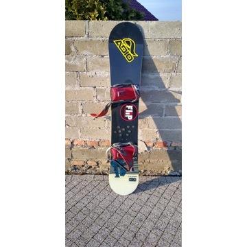 Snowboard NITRO TEAM 5.2 + wiązani, długość 153cm