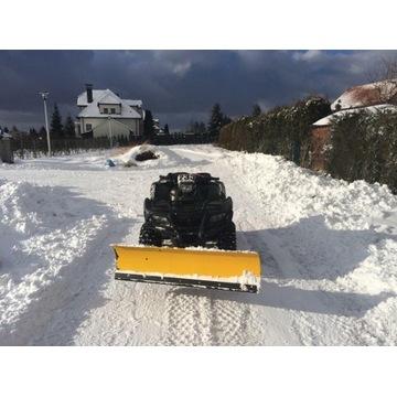Pług zimowy do Kingquada 700/750