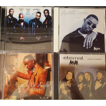4 CD SOUL  Montell Jordan, 112, D'Angelo, Eternal