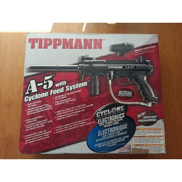 Tippmann A5 Cyclone feed system PAINTBALL