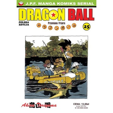 Dragon Ball TOM 25 Książka Komiks Manga PL