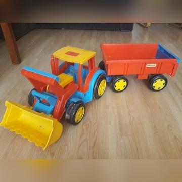 Traktor z przyczepą 120cm
