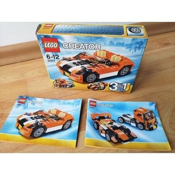 Klocki LEGO CREATOR 3w1 Auto /Bolid /TIR 31017