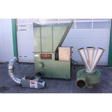 Rębak, rozdrabniacz odpadów ZENO Turbina