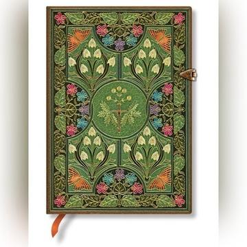 PAPERBLANKS Poetry in Bloom Mini notatnik ozdobny