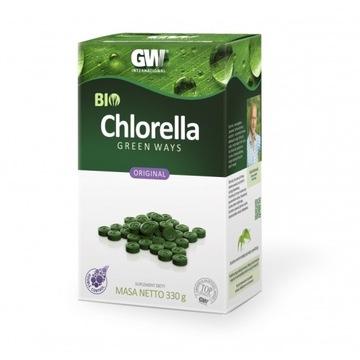 Chlorella Green Ways EKO, 330g 1320 szt tabletek