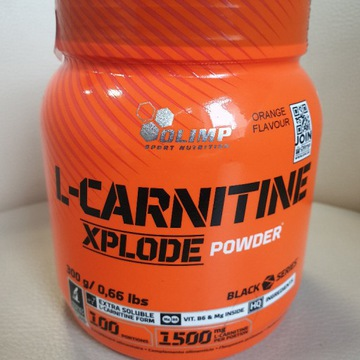 OLIMP L-Carnitine Xplode karnityna 300g Orange