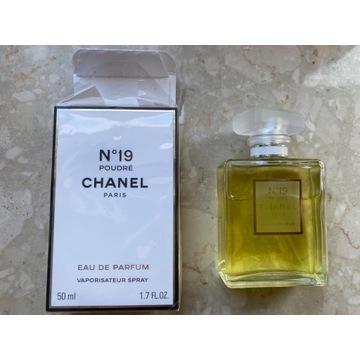 Perfumy Chanel n19 poudre -50 ml, nowe