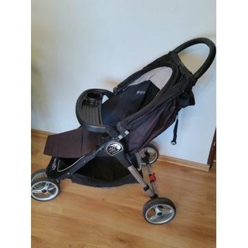 Wózek Baby Jogger City Mini z tacką i podnóżkiem
