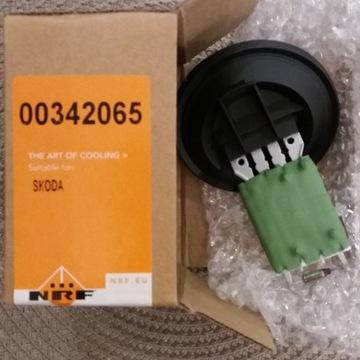 Rezystor opornik dmuchawy NRF 342065 6Q0959263A
