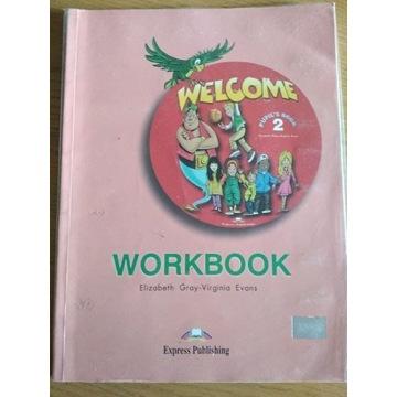 Welcome 2 Workbook Szkoła Podstawowa