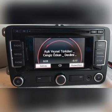 Radio VW Golf VI Passat B7 RNS 315 PL+BT
