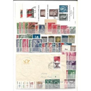 Kraje Niemieckojęzyczne - Zbiór znaczków
