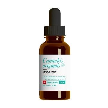 Olejek CBD CO2 SPECTRUM 20% 10ml Cannabis original