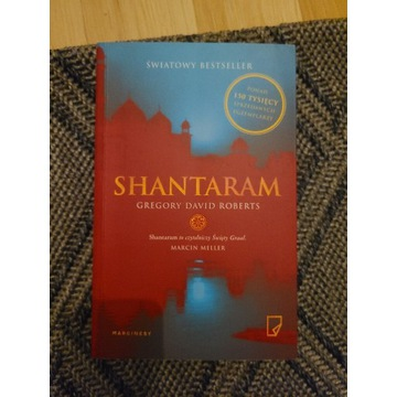 Książka SHANTARAM