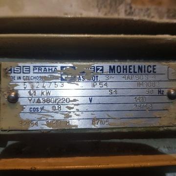 Silnik elektryczny 1,1 kw