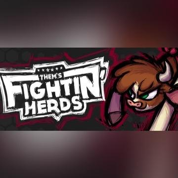 Them's Fightin' Herds klucz Steam