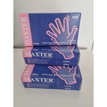 Rękawiczki nitrylowe roz.S 100szt.