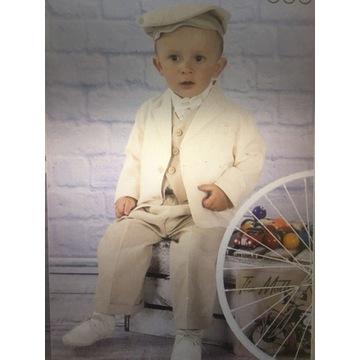 Ubranko do chrztu garnitur 98 KRASNAL styl +gratis
