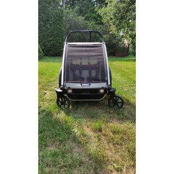 Potestowa przyczepka rowerowa Thule Chariot Lite 2