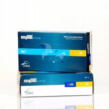 Rękawice nitrylowe Easy Care Zarys 100 szt. M