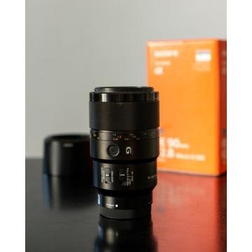 Obiektyw Sony FE 90mm f2.8 Macro OSS