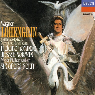 Wagner: Lohengrin (4CDs) - Domingo/Norman/Solti