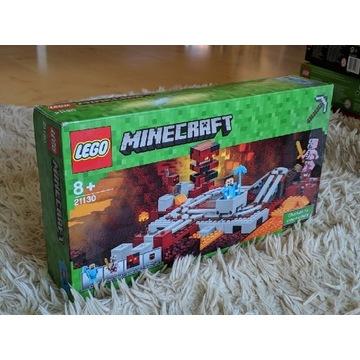 LEGO Minecraft 21130 Linia kolejowa w Netherze