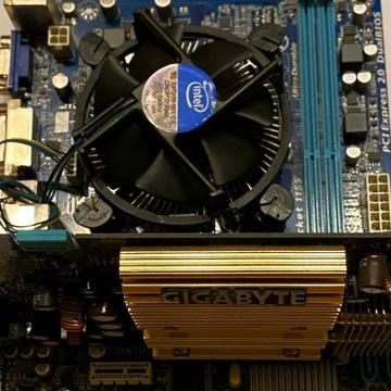 Płyta główna GIGABYTE + procesor i3 + karta graf